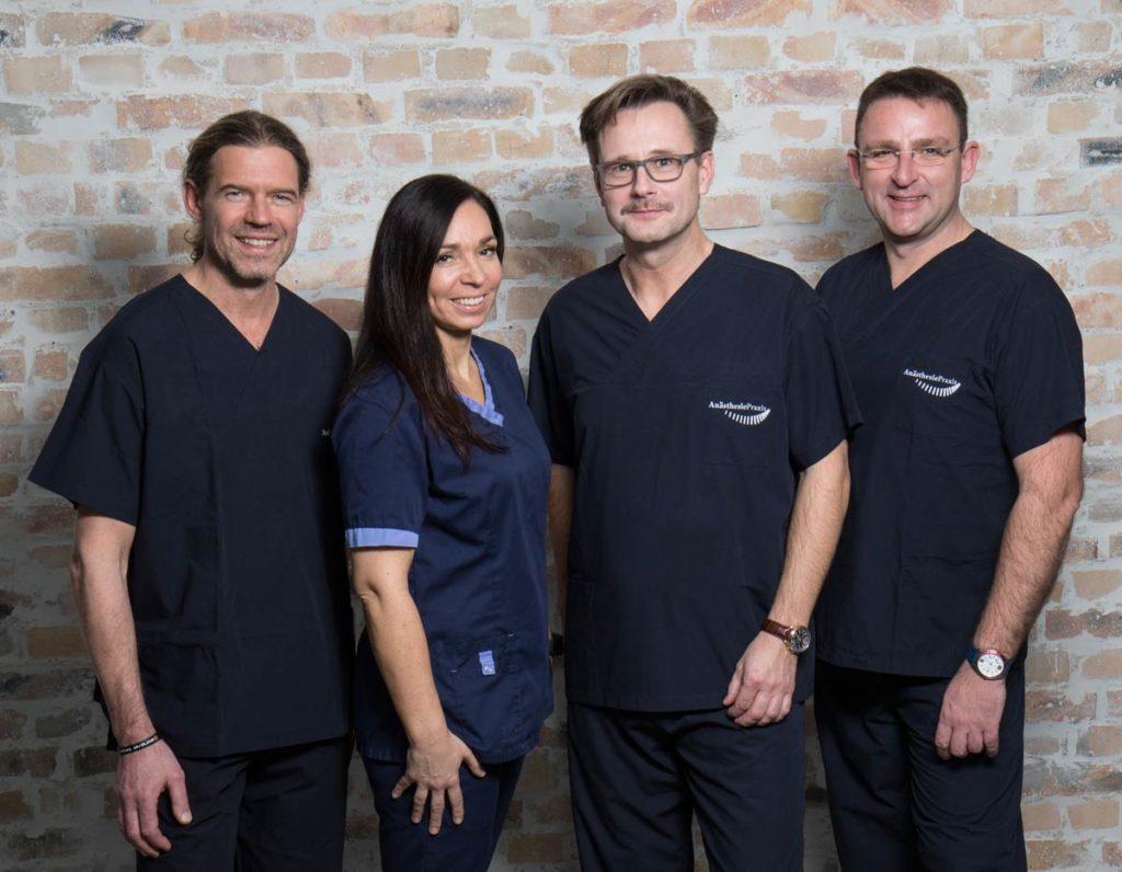 Das Team der Anästhesisten